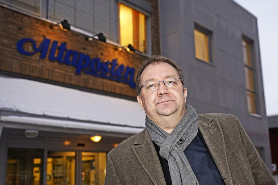 Redaktør Rolf Edmund Lund, Altaposten